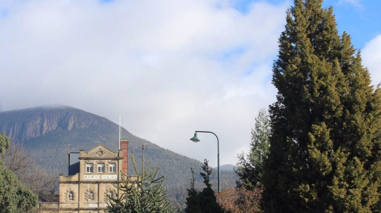 View of Cascade Brewery Hobart