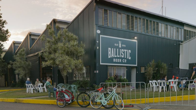 Outside of Ballistic Beer Co.