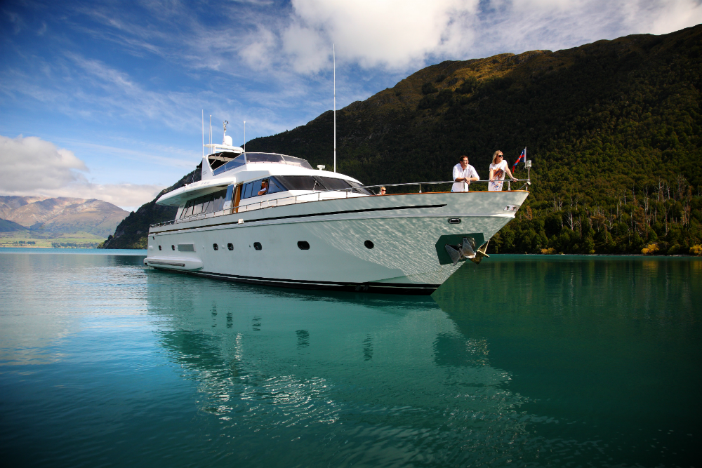 Private yacht charter at Eichardt's hotel