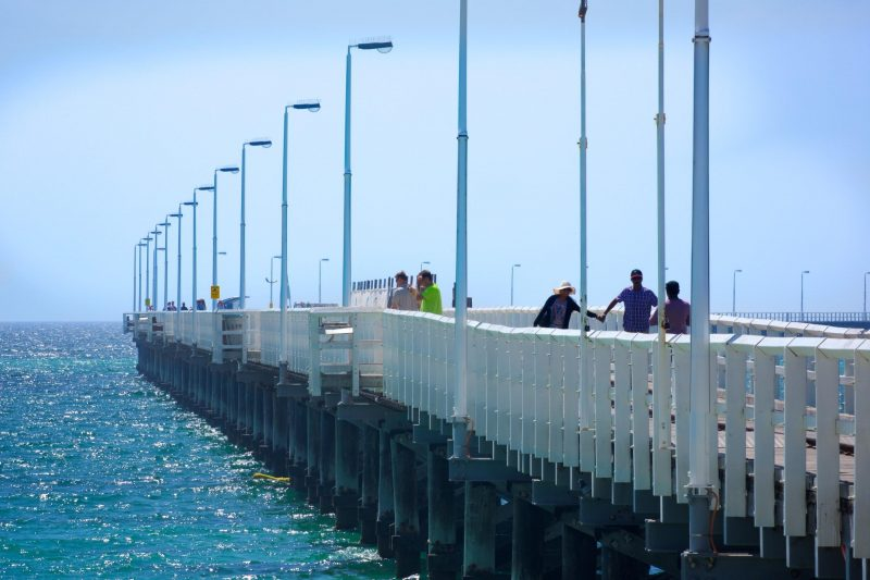 white busselton jetty