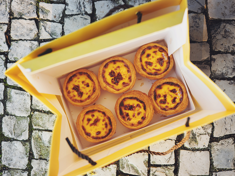 Egg Custard Tarts in Macao