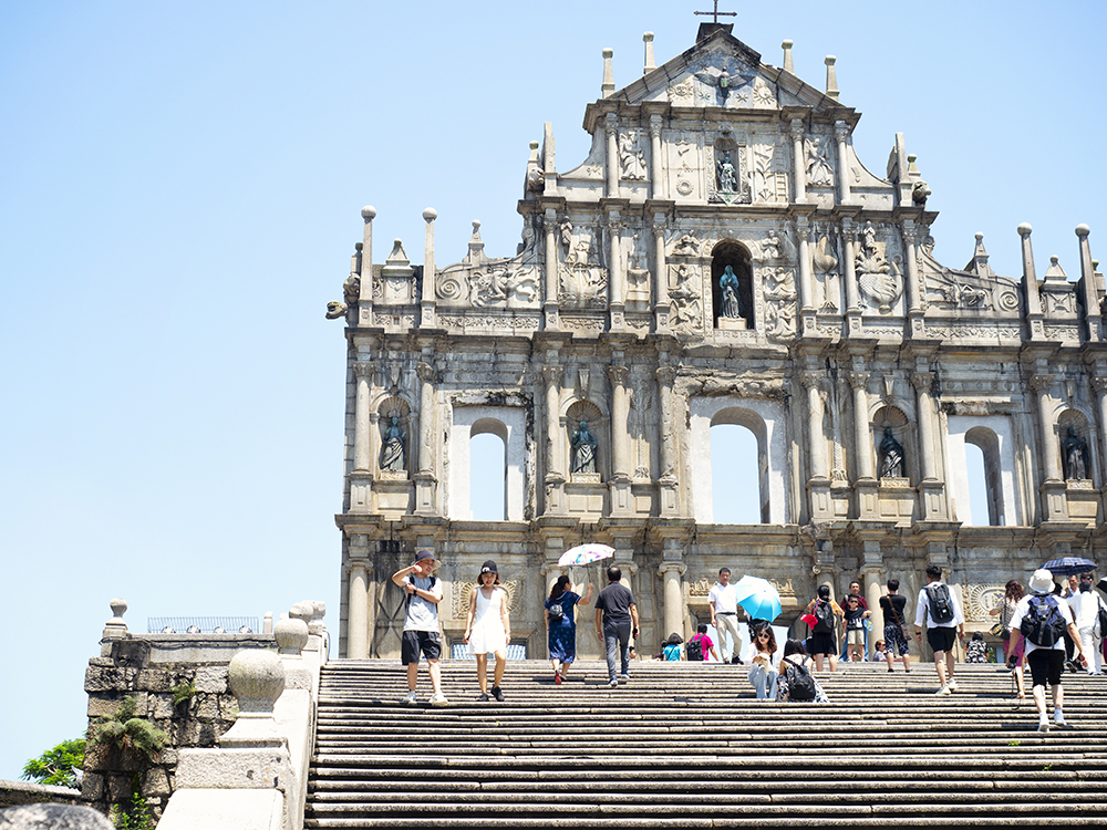 The Ruins of St Paul in Macao