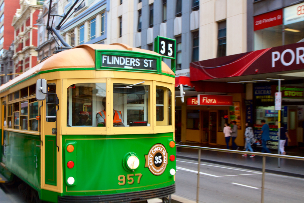 melbourne trolley